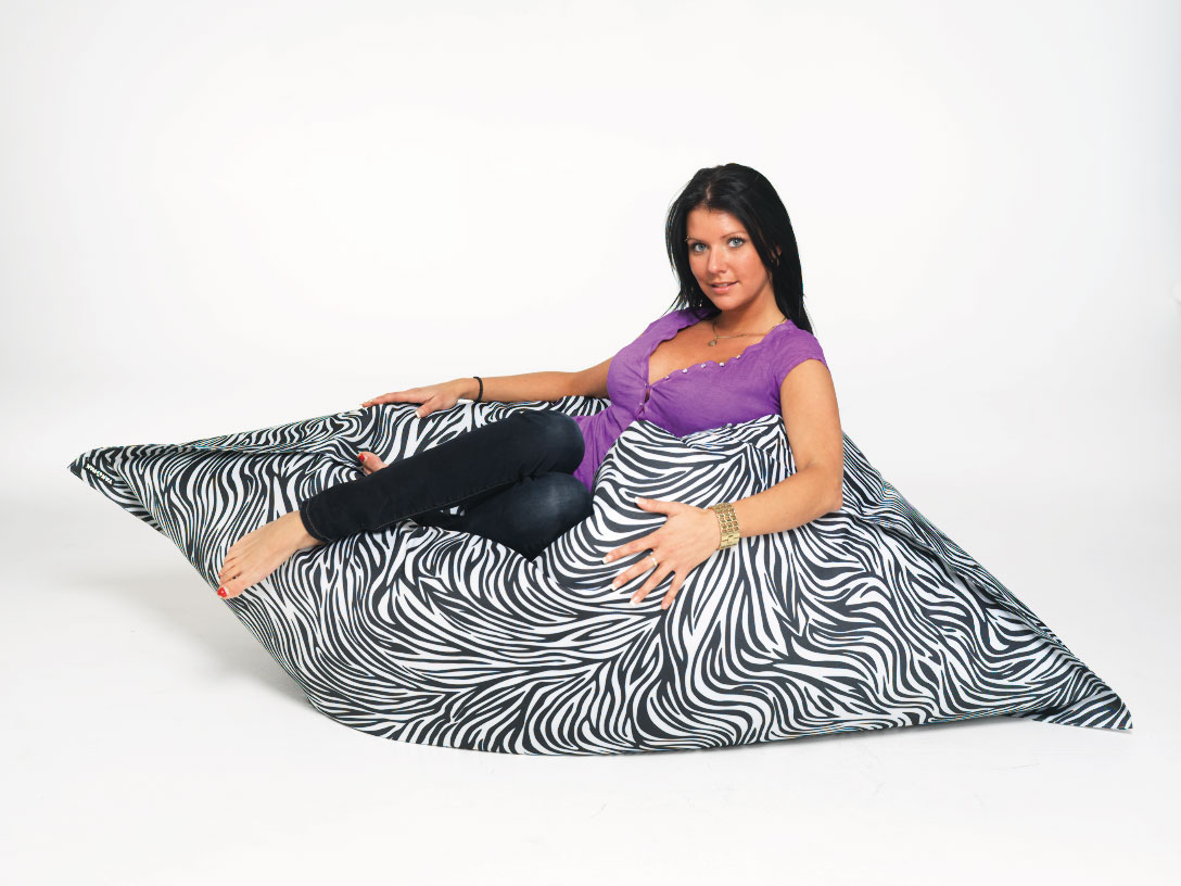 ZEBRA-BEAN-BAG